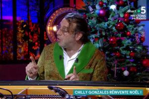 Chilly Gonzales réinvente Noël dans C à Vous