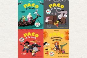 Les livres musicaux Paco